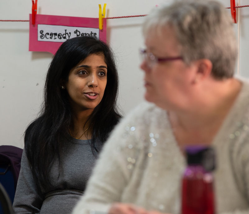 The Health Team helps train peers and professionals in how to stay healthy from top to toe when you have a learning disability or autism