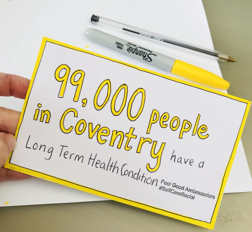 99,000 people in Coventry have a long term health condition