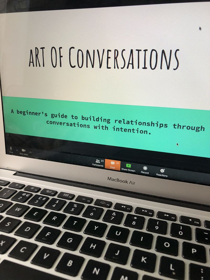 The art of conversations module