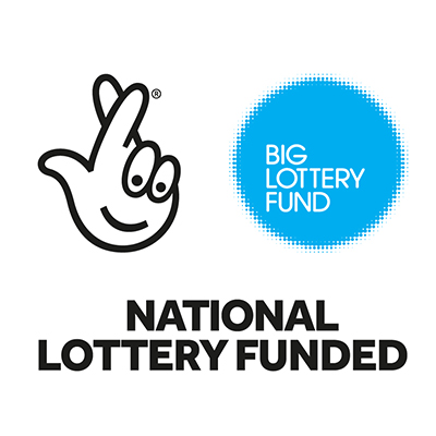 Blue Big Lottery Fund logo