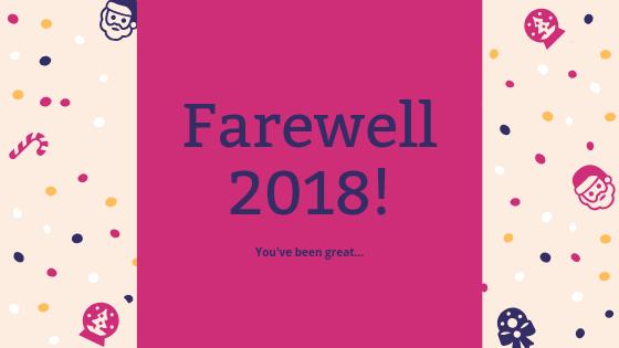 Farewell 2018!