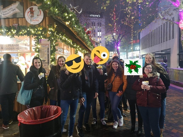 Teenvine at German Market