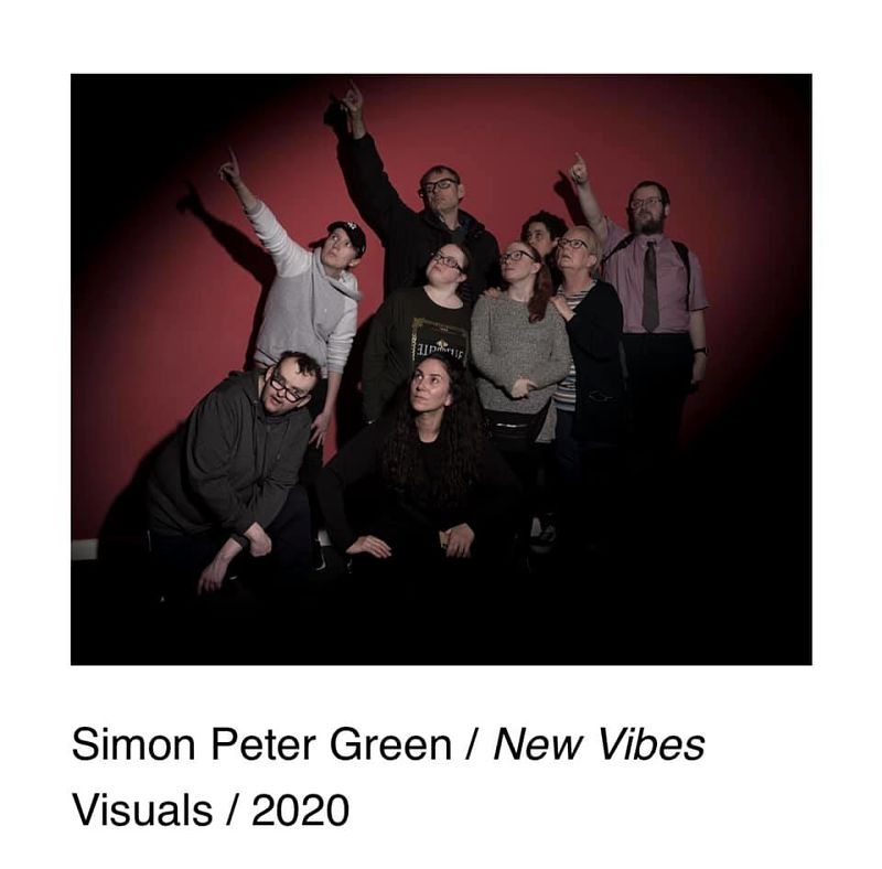 New Vibes Visuals group shot by Simon Green