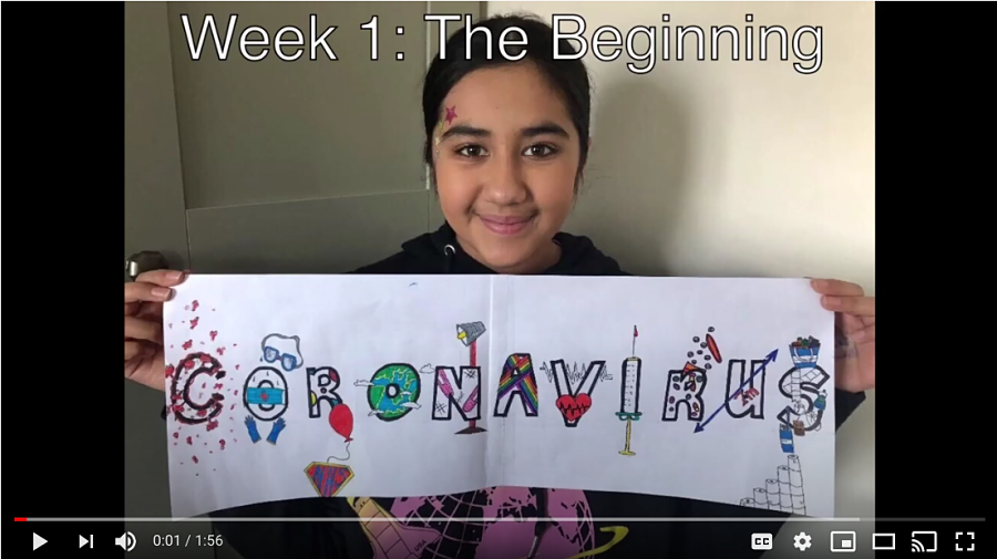 Coronavirus Time Capsule week one