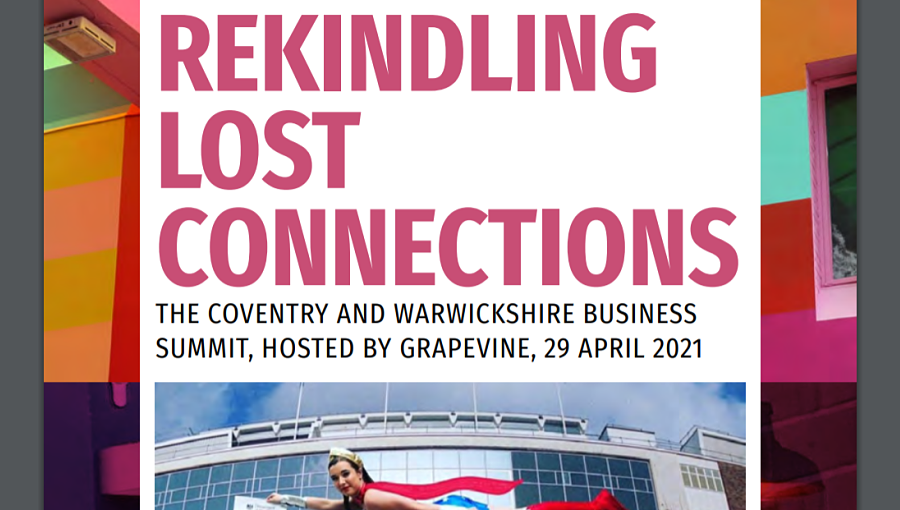 Front cover of the Rekindling Lost Connections report by Grapevine