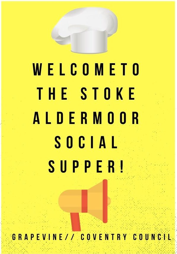 Welcome to Stoke Aldermoor Social Supper