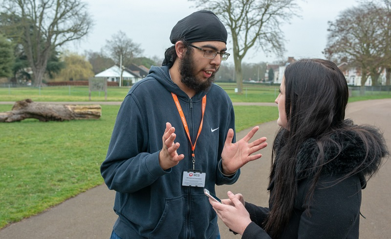 Warwickshire Empowerment Service talking