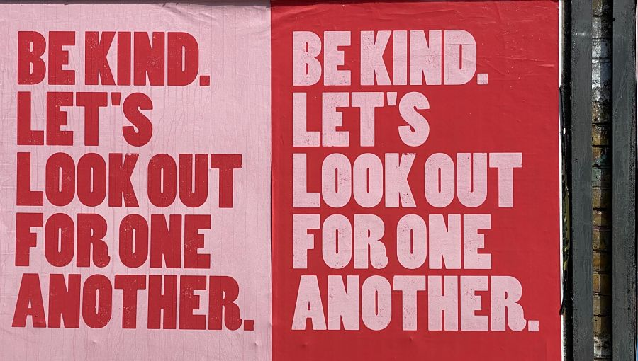 Be Kind posters by John Cameron on Unsplash