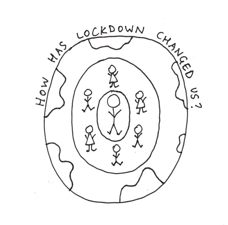 Lockdown lunch logo