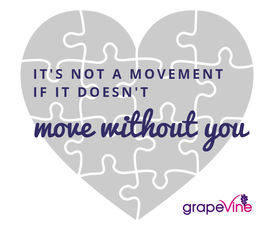 It's not a movement if it doesn't move without you